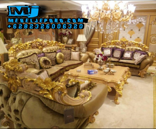 Kursi Tamu Sofa Ukir Jepara Model Royal 04